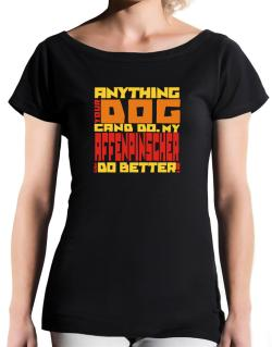 ... My Affenpinscher Can Do Better ! T-Shirt - Boat-Neck-Womens