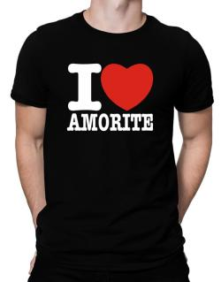 I Love Amorite Men T-Shirt