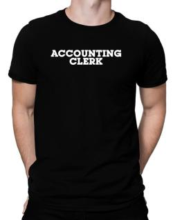 Accounting Clerk Men T-Shirt