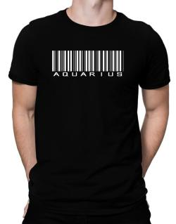 Aquarius Barcode / Bar Code Men T-Shirt