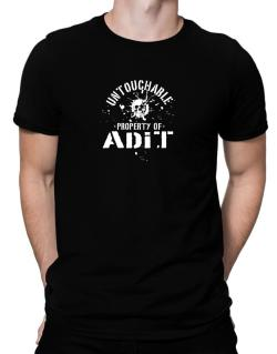 Untouchable : Property Of Adit Men T-Shirt