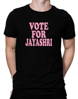 Vote For Jayashri Men T-Shirt