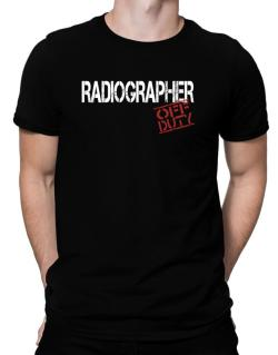 Radiographer - Off Duty Men T-Shirt