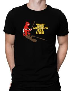 Aboriginal Affairs Administrator Ninja League Men T-Shirt
