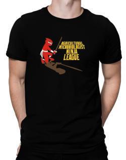 Agricultural Microbiologist Ninja League Men T-Shirt