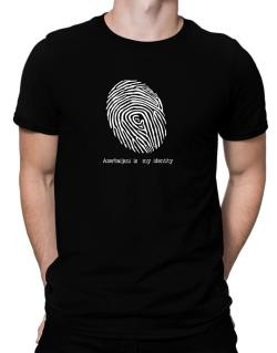Azerbaijani Is My Identity Men T-Shirt
