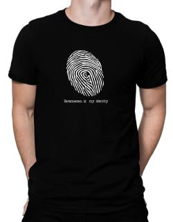 Saramaccan Is My Identity Men T-Shirt