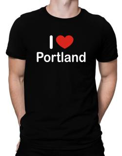 I Love Portland Men T-Shirt