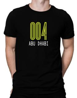 Iso Code Abu Dhabi - Retro Men T-Shirt