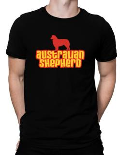Breed Color Australian Shepherd Men T-Shirt