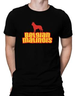 Breed Color Belgian Malinois Men T-Shirt