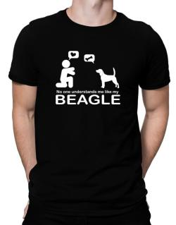 No One Understands Me Like My Beagle Men T-Shirt