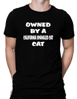 Owned By S California Spangled Cat Men T-Shirt