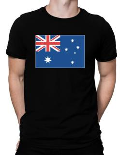 Australia Flag Men T-Shirt