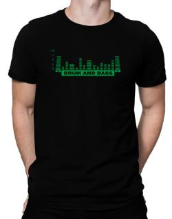 Drum And Bass - Equalizer Men T-Shirt