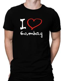 I Love Gombay Men T-Shirt