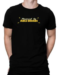 Powered By Abu Dhabi Men T-Shirt