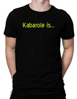 Kabarole Is Men T-Shirt