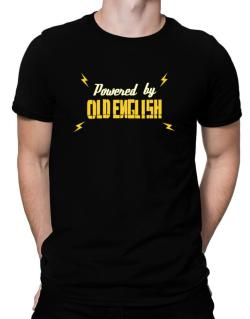 Powered By Old English Men T-Shirt