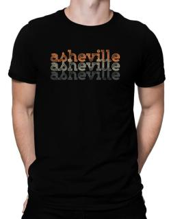Asheville repeat retro Men T-Shirt