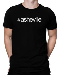 Hashtag Asheville Men T-Shirt