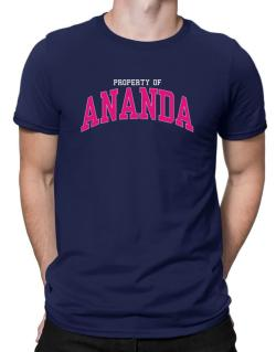 Property Of Ananda Men T-Shirt
