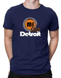 Detroit - State Men T-Shirt