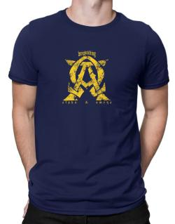 Weightlifting Alpha And Omega Men T-Shirt