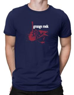 Grunge Rock - Feel The Music Men T-Shirt