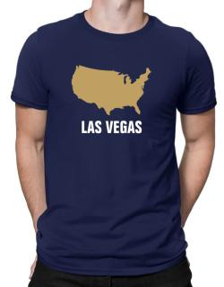Las Vegas - Usa Map Men T-Shirt