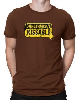 Dangerously Kissable Men T-Shirt