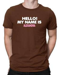 Hello! My Name Is Alexandra Men T-Shirt