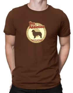 Dog Addiction : Australian Shepherd Men T-Shirt