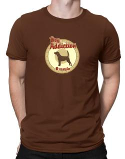 Dog Addiction : Beagle Men T-Shirt