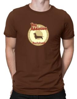 Dog Addiction : Dachshund Men T-Shirt