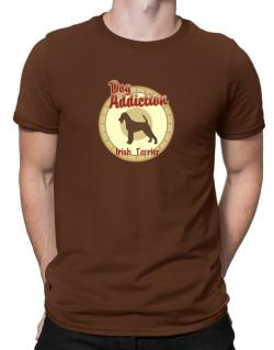 Dog Addiction : Irish Terrier Men T-Shirt