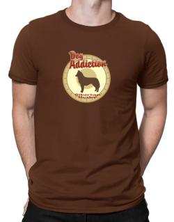 Dog Addiction : Siberian Husky Men T-Shirt