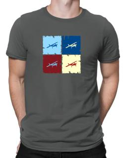 """ Aerobatics - Pop art "" Men T-Shirt"