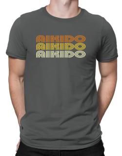 Aikido Retro Color Men T-Shirt