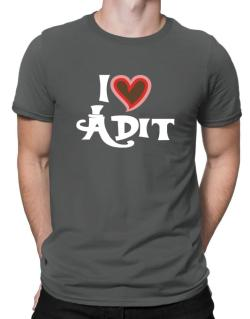 I Love Adit Men T-Shirt