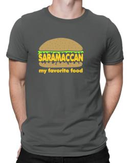 Saramaccan My Favorite Food Men T-Shirt