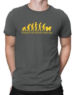Evolution Of The American Eskimo Dog Men T-Shirt