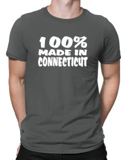 100% Made In Connecticut Men T-Shirt
