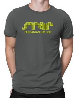 Star Tanzanian Hip Hop Men T-Shirt