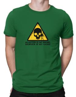 Alaster Is My Name, Danger Is My Game Men T-Shirt