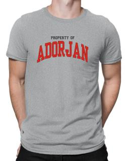 Property Of Adorjan Men T-Shirt