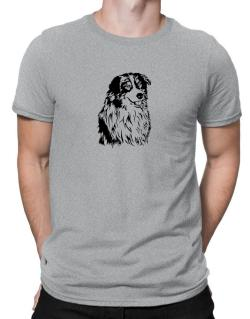 Australian Shepherd Face Special Graphic Men T-Shirt