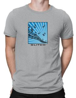 Glitch - Musical Notes Men T-Shirt