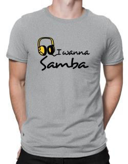 I Wanna Samba - Headphones Men T-Shirt