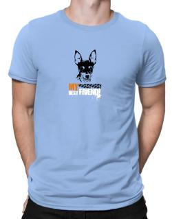 """ Fox Terrier MY BEST FRIEND - URBAN STYLE "" Men T-Shirt"